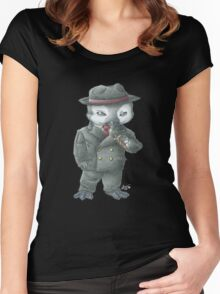Bugsy Penguin Women's Fitted Scoop T-Shirt
