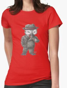 Bugsy Penguin Womens Fitted T-Shirt