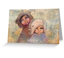 dream your way Greeting Card