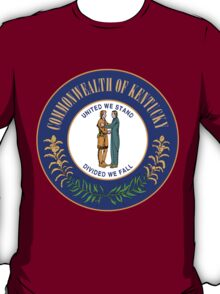 Kentucky Pride | State Seal | SteezeFactory.com T-Shirt