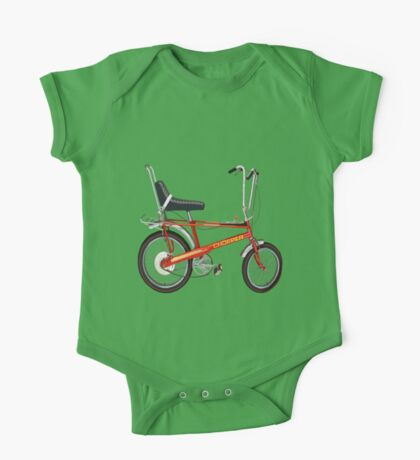 Retro Chopper Bike One Piece - Short Sleeve