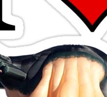 I <3 Skywhale Sticker