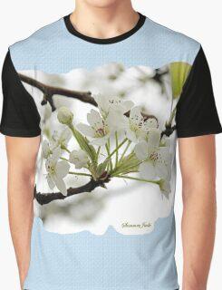 White on White ~ in Morning Rain Graphic T-Shirt