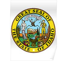 Idaho | State Seal | SteezeFactory.com Poster