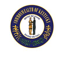 Kentucky | State Seal | SteezeFactory.com Photographic Print