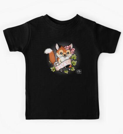 Ivy the Cheeky Fox Kids Tee