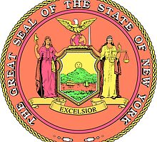 Pink Panther New York | State Seal | SteezeFactory.com by FreshThreadShop