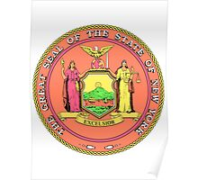 Pink Panther New York | State Seal | SteezeFactory.com Poster