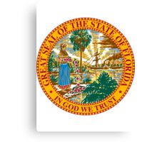 Florida | State Seal | SteezeFactory.com Canvas Print
