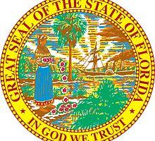 Florida Sunshine | State Seal | SteezeFactory.com by FreshThreadShop