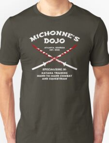 Michonne's Dojo Unisex T-Shirt