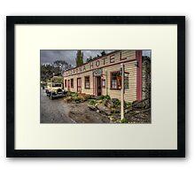 Cardrona Hotel Framed Print