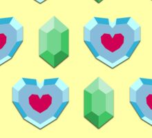 Hearts & Rupees Sticker