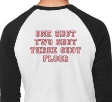 shots shots shots Men's Baseball ¾ T-Shirt