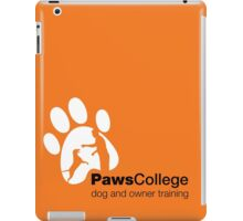 Paws College White marketing materials iPad Case/Skin