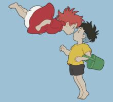Ponyo and Sosuke Kids Clothes