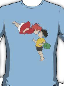 Ponyo and Sosuke T-Shirt