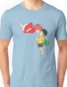 Ponyo and Sosuke Unisex T-Shirt