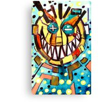 smiley face & the T Canvas Print
