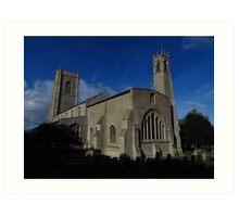 St Nicholas Church, Blakeney Art Print