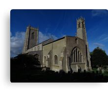 St Nicholas Church, Blakeney Canvas Print