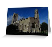 St Nicholas Church, Blakeney Greeting Card