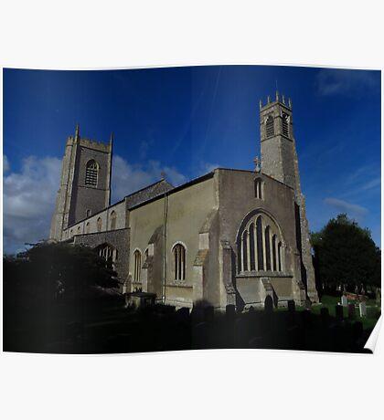 St Nicholas Church, Blakeney Poster