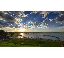 Eastern Beach, Geelong 2013 Photographic Print