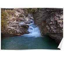 Johnston Canyon Banff Poster