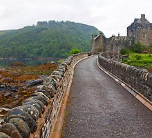 Beautiful Eilean Donan Panorama by Adrian Alford Photography