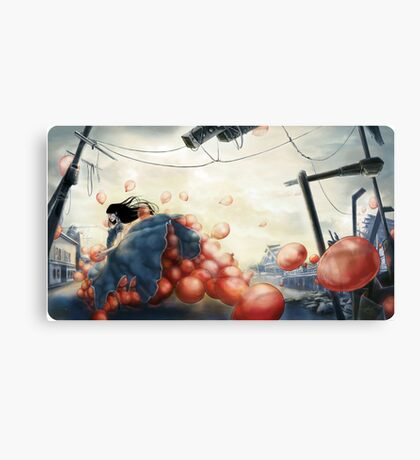 99 Red Balloons 2 Canvas Print