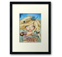Nature Girl Framed Print