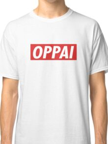 One Punch Man - Saitama - Oppai Classic T-Shirt