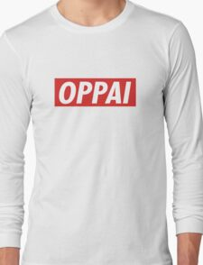 One Punch Man - Saitama - Oppai Long Sleeve T-Shirt