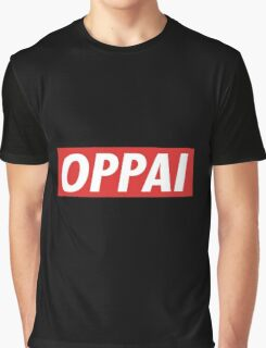 One Punch Man - Saitama - Oppai Graphic T-Shirt
