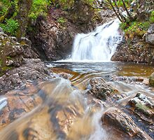 Fort William Waterfall by Adrian Alford Photography