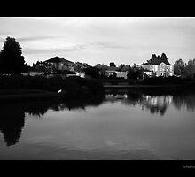 Fairways Village Lake, Craigieburn by Sama-creations