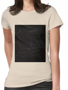 Night lights Womens Fitted T-Shirt