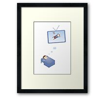 Who manages your dreams? Framed Print