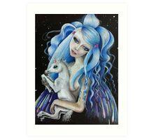 Evangeline & Lily Art Print