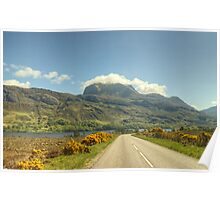 Slioch From The A832 Poster