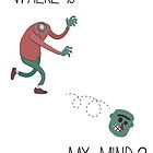 Where is my mind? by Hermoso Ilustración