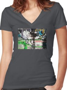 Evolution Revolution Women's Fitted V-Neck T-Shirt