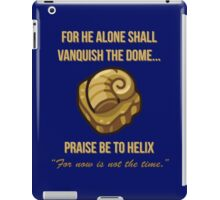 Praise Be To Helix iPad Case/Skin