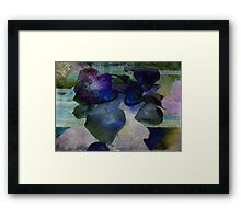 Present Abstract Framed Print