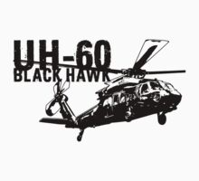 UH-60 Black Hawk One Piece - Short Sleeve