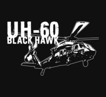 UH-60 Black Hawk by deathdagger