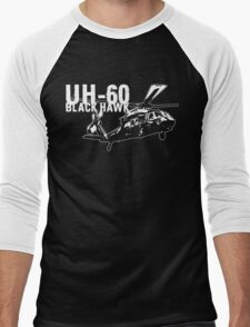 UH-60 Black Hawk Men's Baseball ¾ T-Shirt