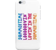 Summertime Lovin' iPhone Case/Skin