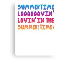 Summertime Lovin' Canvas Print